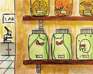 Specimen Jars